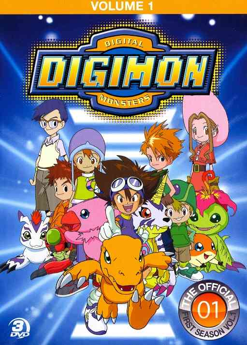 OFFICIAL DIGIMON ADVENTURE SET:VOL 1 BY DIGIMON (DVD)