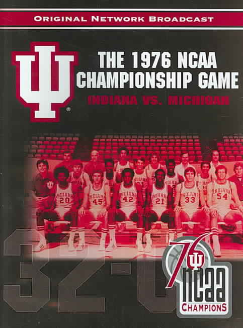 1976 NCAA NATIONAL CHAMPIONSHIP GAME (DVD)